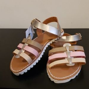 Leather Little Girl's Sandals